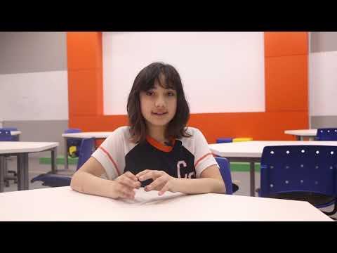 Sofia Lopes Fragoso, aluna do 6º ano