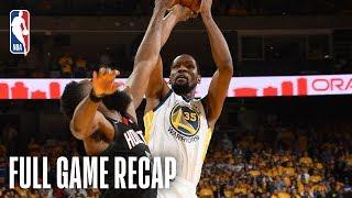 ROCKETS vs WARRIORS | Kevin Durant Continues Stellar Scoring  | Game 1