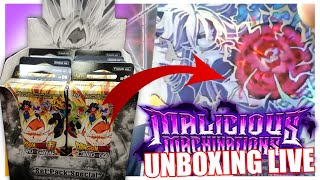 "REPLAY LIVE 19: 8 ""Set Pack Special"" Dragon Ball Super Card Game Malicious Machination !"