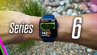 Apple Watch Series 6 // First Impressions, First Ride Report, and Blood Oxygen Test vs Garmin!
