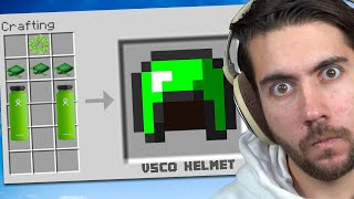 I Made An Illegal Helmet That Does EVERYTHING   Minecraft Trade Up E7