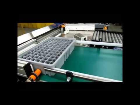 Performance Feeders Custom tray handling Conveyor System