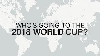 World Cup 2018 - Which Teams Have Qualified For Russia?