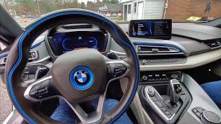 TESTEI UMA BMW i8 😲 QUANTO CUSTA NOS ESTADOS UNIDOS