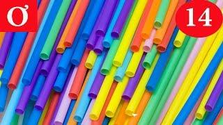 Mẹo vặt cuộc sống số 14 - Mẹo vặt với ống hút - Hướng dẫn cách làm chong chóng đẹp - ơ rê ca
