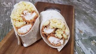 Fried Chicken Mac N Cheese Burrito Recipe | Episode 563