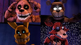 Ever FNAF Fazbear Fright Animatronic in a nutshell (SFM FNaF)
