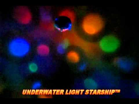 Underwater Starship Light Show from Game Group - AmeriMerc.com