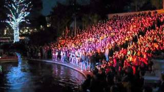 San Antonio's 2011 ALAMO BOWL [[ Riverwalk ]] PEP RALLY  ( Tues., 12/27/11 )