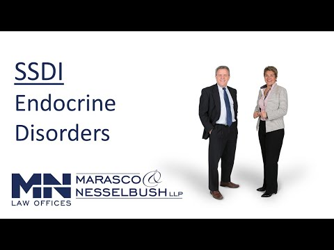 Social Security Disability Benefits: Endocrine Disorders - Marasco & Nesselbush, LLP