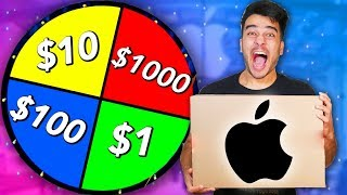 Spin The Mystery Wheel CHALLENGE! *BEST Mystery Box Reaction* (NOT CLICKBAIT)