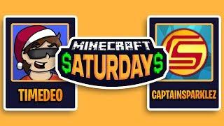 Minecraft Saturday $7500 Tournament w/ TimeDeo (#5)