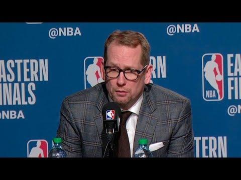 Nick Nurse Postgame Interview - Game 4 | Bucks vs Raptors | 2019 NBA Playoffs