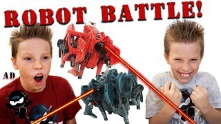 Paxton VS Ashton Hexbug Battleground!
