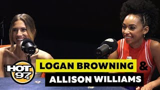 Logan Browning & Allison Williams On Cancel Culture, Lena Dunham + 'The Perfection'