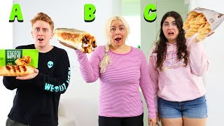 EATING EVERYTHING FAST FOOD IN ALPHABETICAL ORDER CHALLENGE!