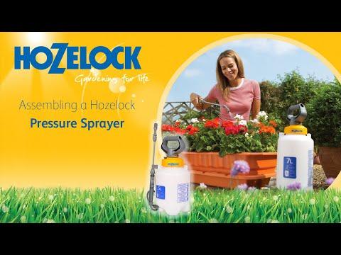 Hozelock 4507 7 Litre Portable Pressure Sprayer