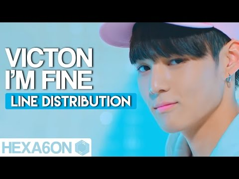 VICTON - I'm Fine Line Distribution (Color Coded)