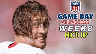 "NFL Week 8 Mic'd Up, ""His quads are a mixture of maple syrup & diesel"" 