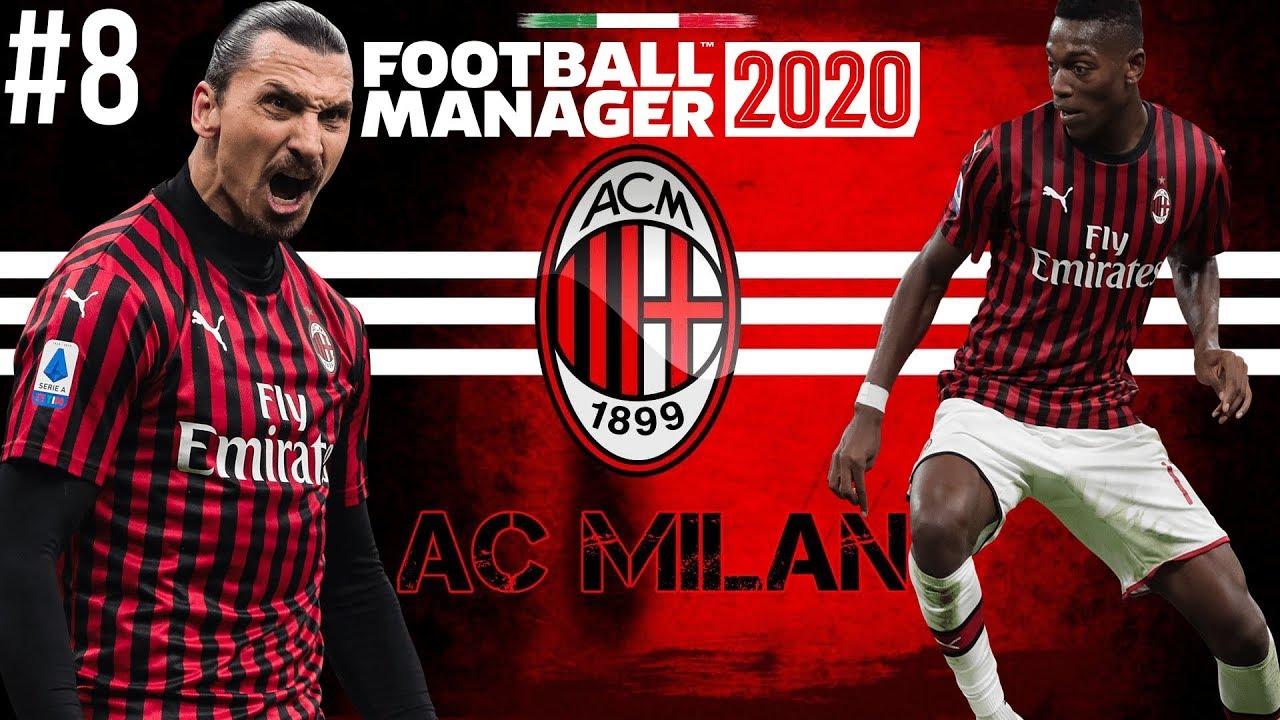 IBRA FINDS SCORING FORM | FM20 AC Milan EP8 | Football Manager 2020 Career Mode