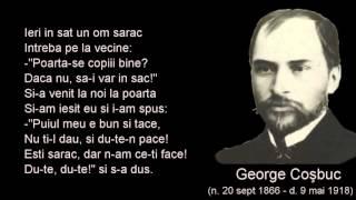A venit un lup din crang - George Cosbuc