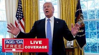 President Trump Addresses The Nation - LIVE COVERAGE