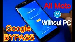Motorola Moto M (XT1663) FRP Unlock or Google Account Bypass