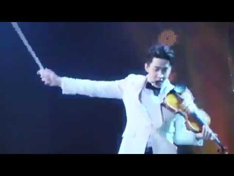 Henry The powerful Violin performance @Thailand Headlines Person of the Year Awards 2017