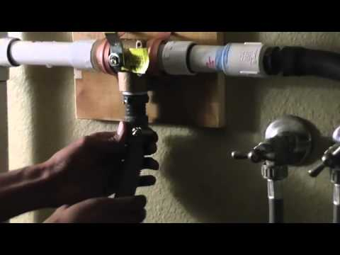 How to Install a Laundry to Landscape Greywater System HD