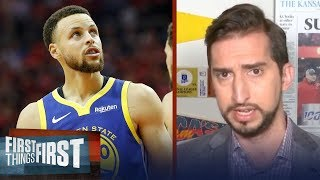 It's a wrap for Warriors Dynasty, Steph won't see another final — Nick | NBA | FIRST THINGS FIRST