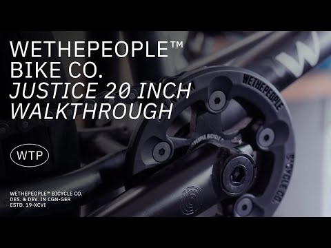 "Video WETHEPEOPLE Bmx JUSTICE 20.75"" 2021 Matt Ghost Grey"