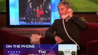 Ellen Calls The White House!