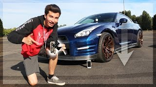 Will a Bagged GT-R Crush a New iPhone? (Car Science)