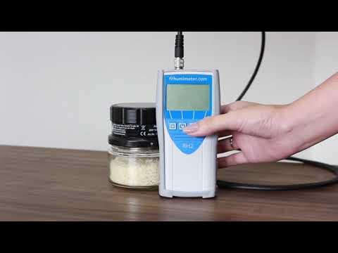 Medidor de Atividade de Água - Humimeter RH2