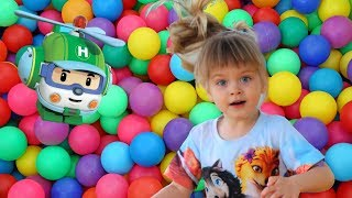 Helly Robocar and Fun Indoor Playground for Kids and Family