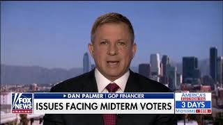 Dan Palmer   Fox News Channel  11 3 2018 Americas Election HQ