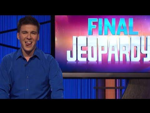 Jeopardy! James Holzhauer Day 33 Final Jeopardy 6/3/19