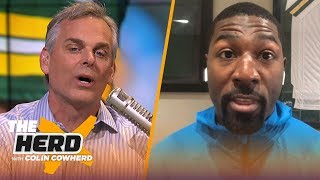Greg Jennings responds after being called out by Aaron Rodgers | NFL | THE HERD