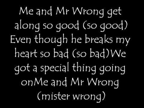 Mr.Wrong by Mary J. Blige Feat Drake (Lyrics)