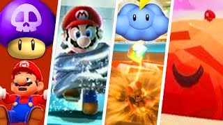 Evolution of Worst Power-Ups in Super Mario Games (1986 - 2018)