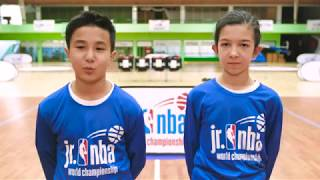 Jr. NBA Europe Selection Camp 2018 қатысушылармен сұхбат