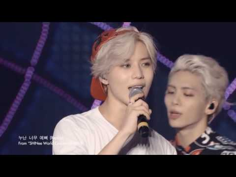 The Beauty of Taemin (SHINee) Best of live moments from Taemin #2