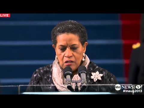 Inauguration Day 2013: Myrlie Evers-Williams Delivers Inaugural ...