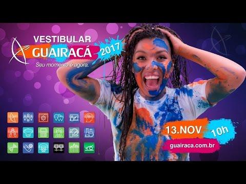 Vestibular 2017 da Faculdade Guairacá