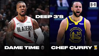 Steph Curry vs. Damian Lillard | DEEP 3's | 2020-21 NBA Season