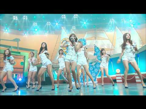 Girls' Generation - Genie, 소녀시대 - 소원을 말해봐, Music Core 20090801