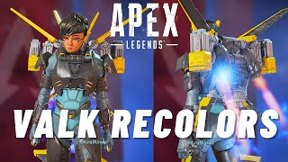 Valk Recolors + Respawn Adressing Smurfs + Ground Loot Fix l Apex Legends
