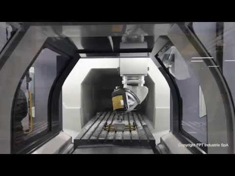 FPT Industries - DINO  Vertical Milling Machine Test