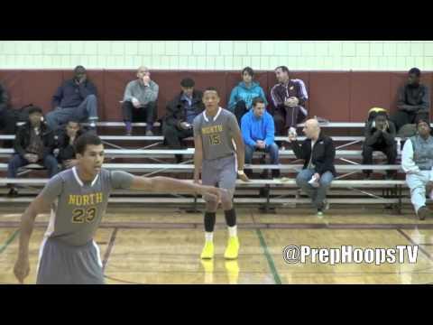 Jeron Rogers 2015 North Farmington highlights vs Warren Mott
