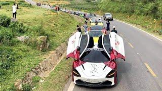 Dàn siêu xe gây tắc đường hàng cây số ở mộc châu(Đoàn car passion 2019)